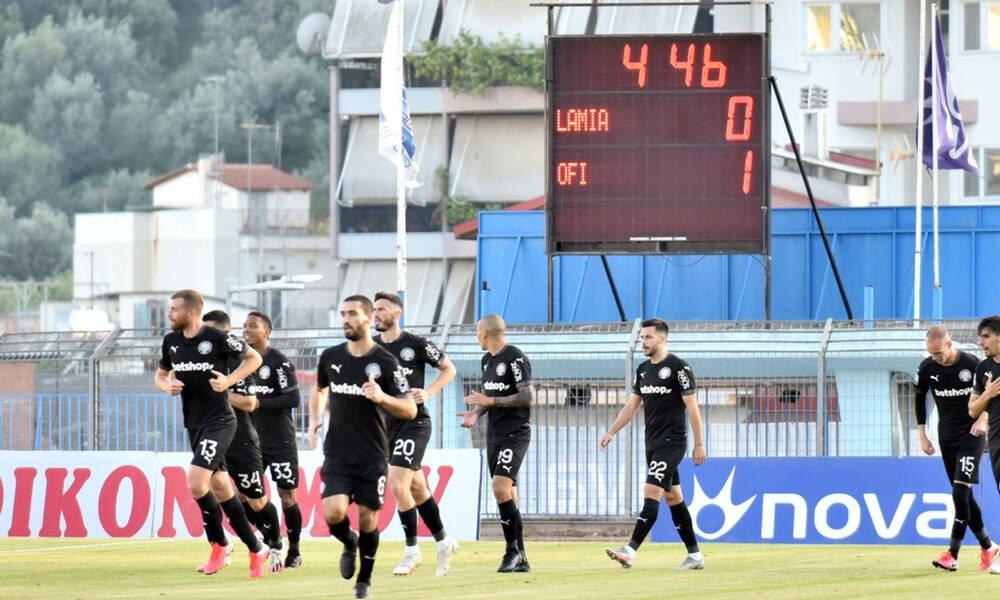 Λαμία-ΟΦΗ 0-2: Μένουν Super League και τη νέα σεζόν οι Κρητικοί (photos)