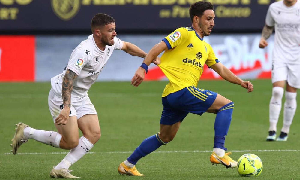 La Liga: Η Κάντιθ κράτησε χαμηλά την Ουέσκα! (Video)