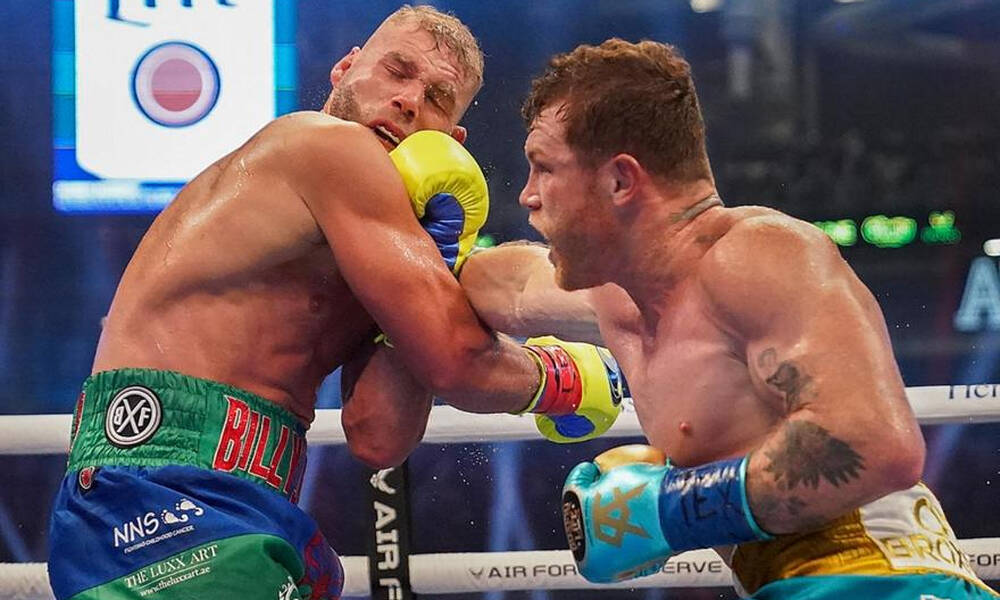 Πυγμαχία: Άπαιχτος Κανέλο, τσάκισε και τον Σόντερς (photos+video)
