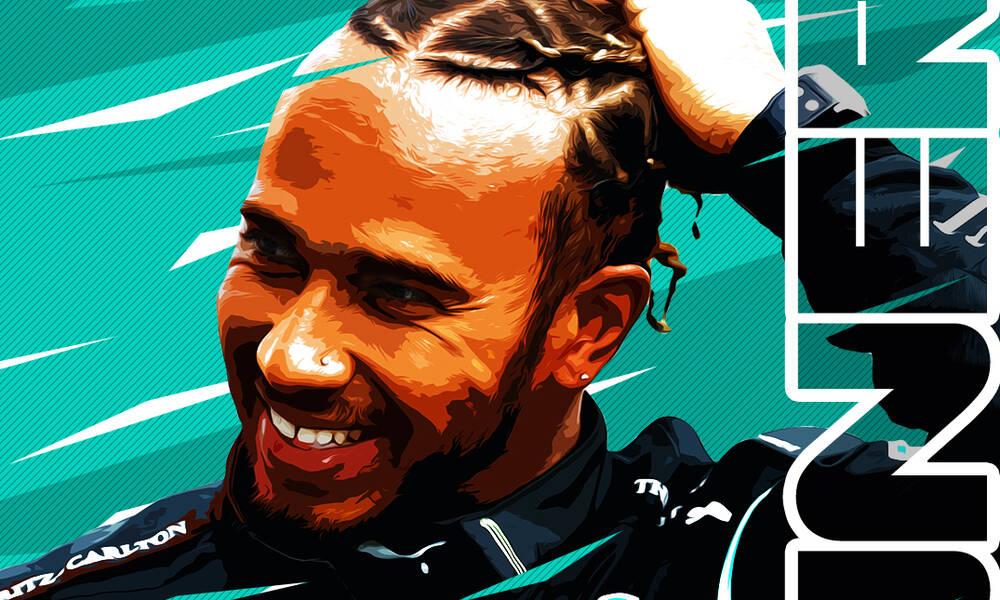 Formula 1: «Ζωγράφισε» στην Ισπανία ο Χάμιλτον