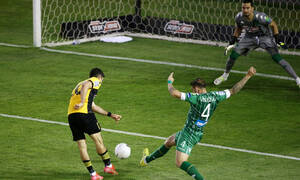 Παναθηναϊκός-ΑΕΚ: Εκτέλεσε τον Διούδη ο Μάνταλος για το 0-1 (video+photos)