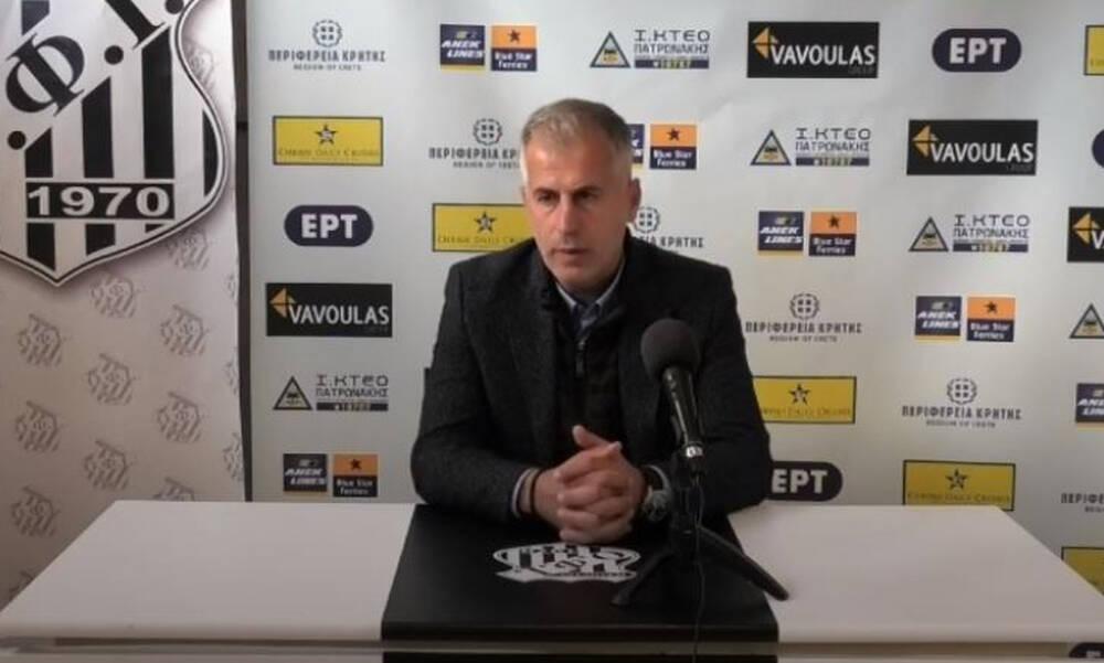 Θεοδοσιάδης: Πλασματικό το 4-0 από τον Λεβαδειακό