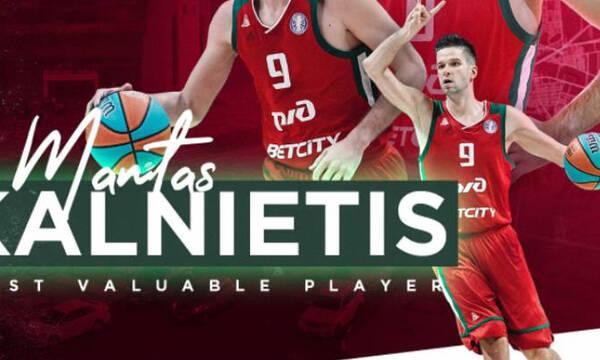 VTB League: MVP της σεζόν ο Καλνιέτις (vid)