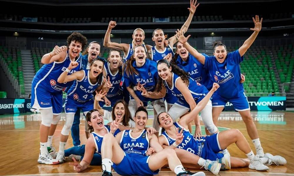 Εθνική μπάσκετ γυναικών: Φιλικά στην Κροατία