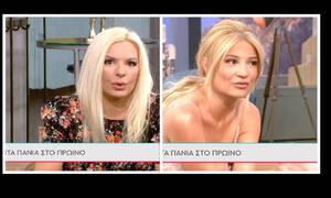 Απίστευτη ατάκα Πάνια σε Σκορδά: «Δεν θα ερχόμουν στην εκπομπή αν με έπαιρνες εσύ»