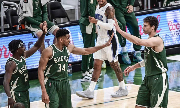 NBA: Νίκη για Μπακς με πρωταγωνιστή Γιάννη (photos+video)