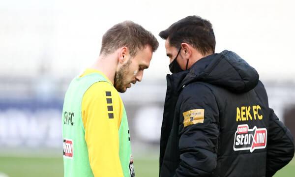 Αστέρας Τρίπολης-ΑΕΚ: Με 3-4-3 και στόπερ τον Μπακάκη η ενδεκάδα (photos)