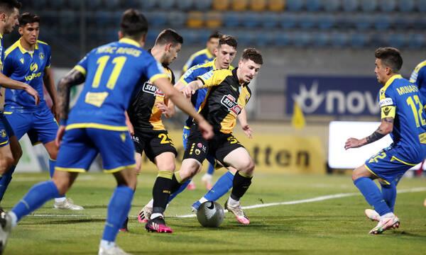 Αστέρας Τρίπολης-ΑΕΚ 1-1: Τα highlights από την Τρίπολη (video)