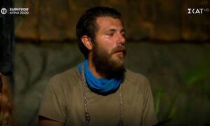 Survivor: Τελευταία εξέλιξη! Θρίλερ με τον Νίκο Μπάρτζη στο νοσοκομείο