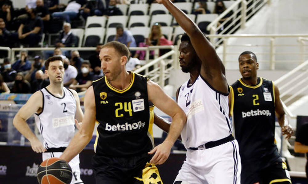 ΑΕΚ: Ο Λοτζέσκι 13ος ξένος σε συμμετοχές της Basket League