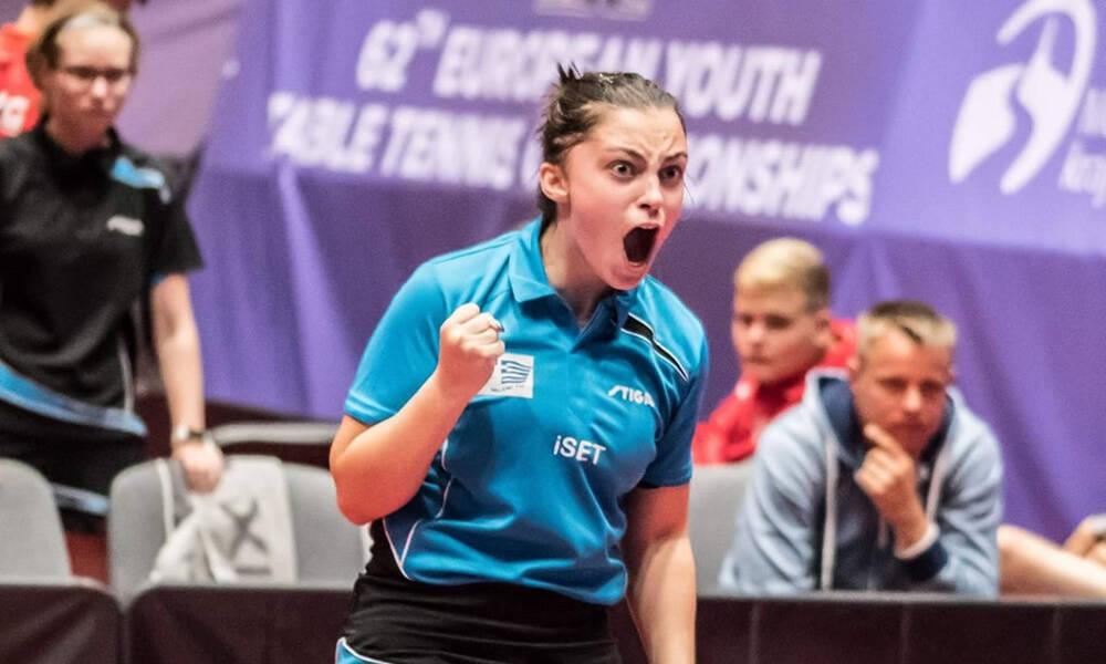 Με την Παπαδημητρίου η επιστροφή των ελληνικών συμμετοχών στα διεθνή τουρνουά μικρών ηλικιών