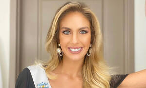 Εκπληκτικό! Υποψήφια Miss Universe με φανέλα Μαραντόνα! (Video+Photos)
