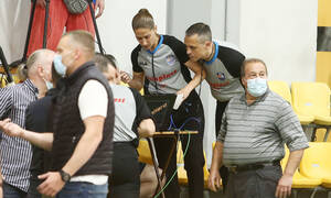 Ολυμπιακός-Παναθηναϊκός: Επίθεση Τσουκαλά, Κουντούρη και οπαδών κατέγραψαν οι διαιτητές
