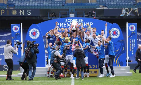 Premier League Σκωτίας: Αήττητη Πρωταθλήτρια η Ρέιντζερς! (Photos)