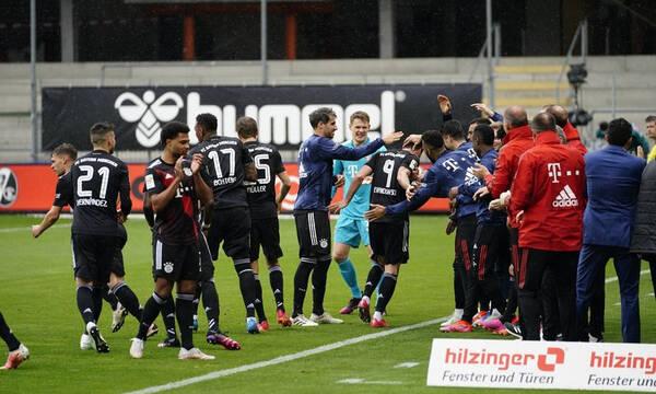 Bundesliga: Ισόπαλη η Μπάγερν στο ρεκόρ του «Λέβα» - Ήττες σοκ για Άιντραχτ, Γκλάντμπαχ (videos)