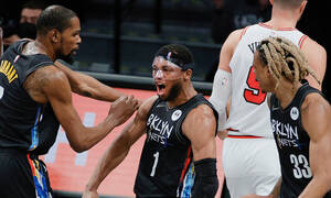 NBA: «Καθάρισαν» οι «Big three» των Νετς - Όλα τα αποτελέσματα