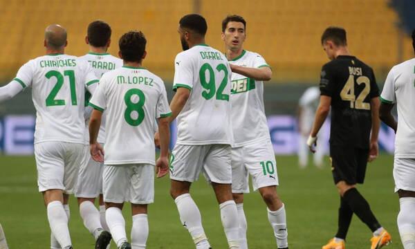 Serie A: Νίκησε κι ελπίζει για Ευρώπη η Σασουόλο…