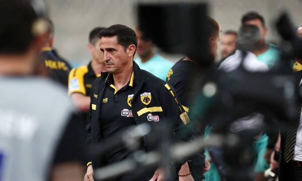 Χιμένεθ στους παίκτες: «Δεν ξέρω αν θα μείνω στην ΑΕΚ» (video)
