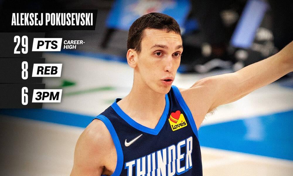 NBA: Τα «όργια» του Ποκουσέφσκι (video)