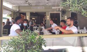 ΠΑΟΚ: Γεύμα πριν το τελικό με Ολυμπιακό - Έτσι εμφανίστηκε ο Πάμπλο Γκαρσία