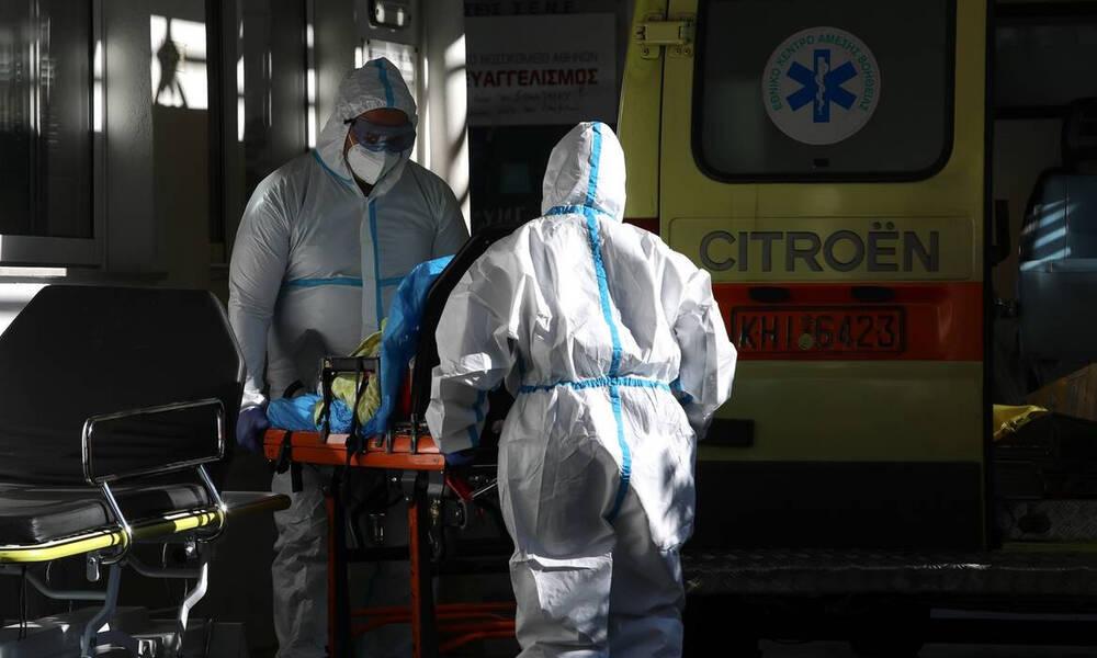Κρούσματα σήμερα: 2.812 νέα ανακοίνωσε ο ΕΟΔΥ - 63 νεκροί σε 24 ώρες, στους 639 οι διασωληνωμένοι