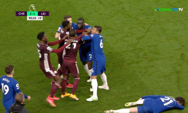 Premier League: Αστεράτη η Τσέλσι, 2-1 τη Λέστερ - Στο χέρι της Λίβερπουλ το Champions League