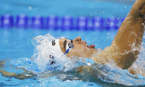 Κολύμβηση: Έγραψε ιστορία ο Χρήστου - Στον τελικό στα 100μ ύπτιο με τρομερό πανελλήνιο ρεκόρ