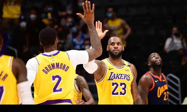 NBA: Στα πλέι οφ δια χειρός Λεμπρόν οι Λέικερς (video+photos)