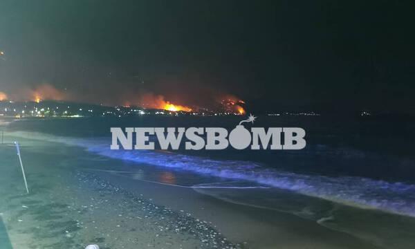 Φωτιά στην Κορινθία: Ολονύκτια μάχη στα Γεράνεια Όρη – Πολλά τα μέτωπα, μαίνεται η πύρινη λαίλαπα