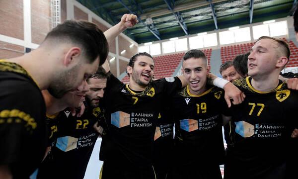 Κύπελλο χάντμπολ ανδρών: Στον τελικό η ΑΕΚ (photos+video)