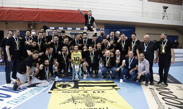 ΑΕΚ - ΠΑΟΚ 24-22: «Κιτρινόμαυρο» το Κύπελλο σε τελικό «θρίλερ»