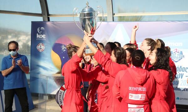 Βουλιαγμένη - Ολυμπιακός 8-11: Με ανατροπή το Κύπελλο οι «ερυθρόλευκες»