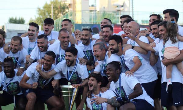 Ιωνικός: Φιέστα ανόδου στη Νίκαια - Έτσι γιόρτασε την επιστροφή στην Super League