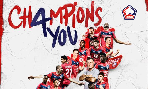 Ligue 1: Επέστρεψε στο «θρόνο» της μετά από δέκα χρόνια η Λιλ του Καρνέζη (video+photos)