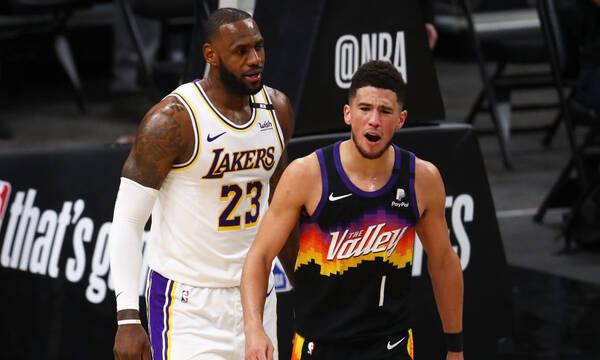 NBA: Σούπερ Σανς, υπέταξαν τους Λέικερς (photos+video)