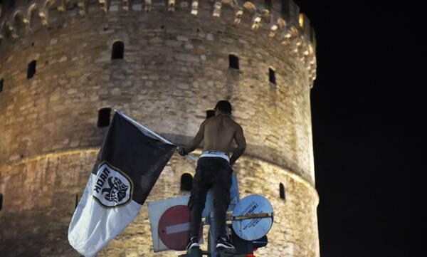 ΠΑΟΚ: Οι πανηγυρισμοί του Κυπέλλου μέσα από το PAOK TV (video+photos)