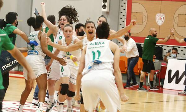 Ολυμπιακός - Παναθηναϊκός: Έτσι «έβαψε πράσινο» το Πρωτάθλημα μέσα στο ΣΕΦ (videos+photos)