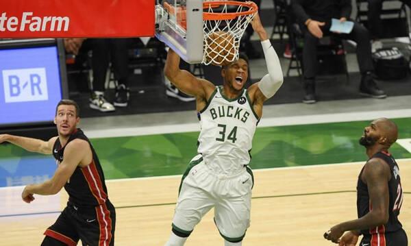 NBA: Σαρωτικοί Μπακς και 2-0 (video+photos)