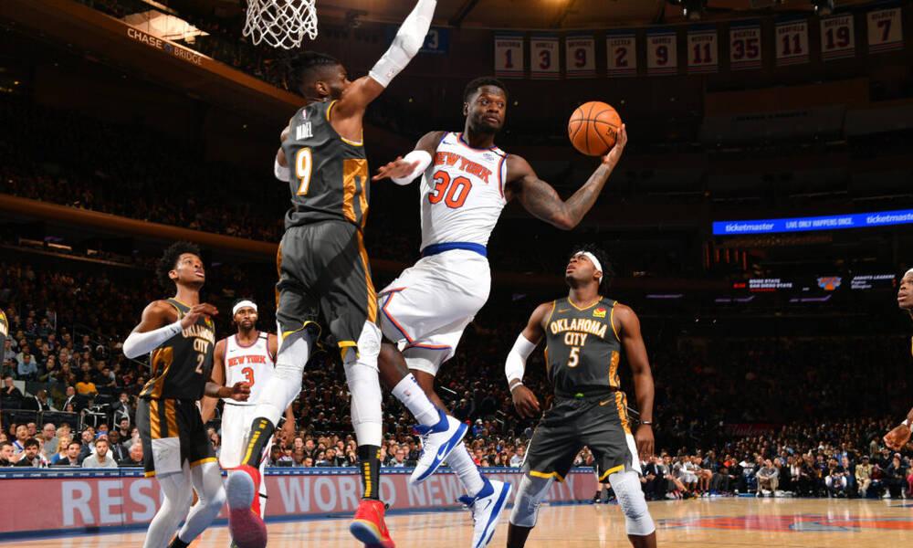 NBA: Πιο βελτιωμένος της σεζόν ο Τζούλιους Ραντλ (photos+video)