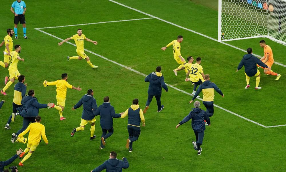 Τελικός Europa League: Η Βιγιαρεάλ σήκωσε την κούπα κόντρα στη Μάντσεστερ Γιουνάιτεντ! (video)