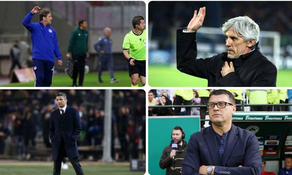 Ηγέτες είναι οι προπονητές σε Παναθηναϊκό, Ολυμπιακό, ΠΑΟΚ και ΆΕΚ! (photos)