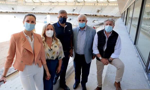 Μελισσανίδης στην «Αγια-Σοφιά»: «Σε δέκα μήνες θα απολαύσουμε το γήπεδό μας» (photos+video)