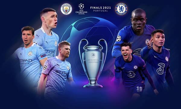 Champions League: Αγγλικός «εμφύλιος» Μάντσεστερ Σίτι και Τσέλσι με φόντο το τρόπαιο