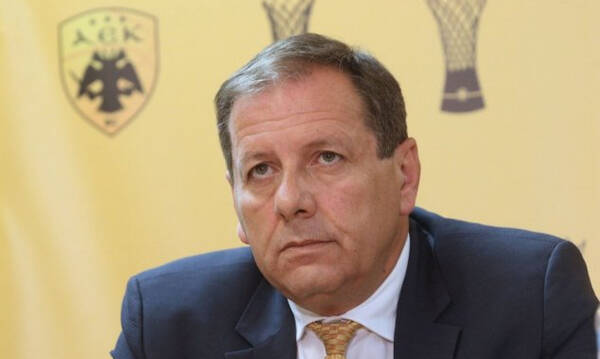 Αγγελόπουλος: «Υπερήφανος για τους αθλητές μας, θα μιλήσω στον κόσμο της ΑΕΚ»!