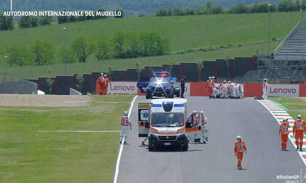 Moto3: «Πάγωσαν» άπαντες στο Mugello - Άσχημη σύγκρουση (videos+photos)
