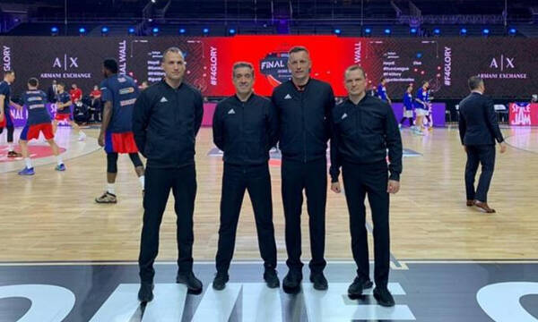 Euroleague: Οι διαιτητές του τελικού!