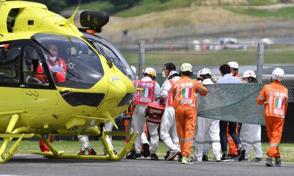Moto3: Αγωνία για τον 19χρονο Τζέισον Ντουπασκιέ που τραυματίστηκε στο Mugello (video)