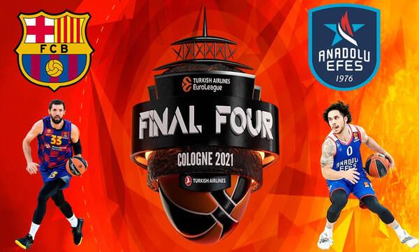 Μπαρτσελόνα - Εφές Αναντολού: LIVE ο τελικός του Final Four