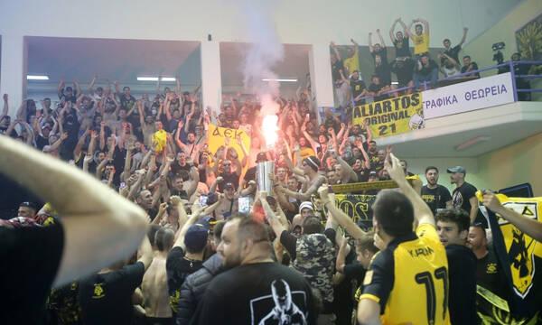 Η αντίδραση Αυγενάκη για τις γεμάτες εξέδρες στον τελικό της ΑΕΚ - «Θα υπάρξουν συνέπειες»