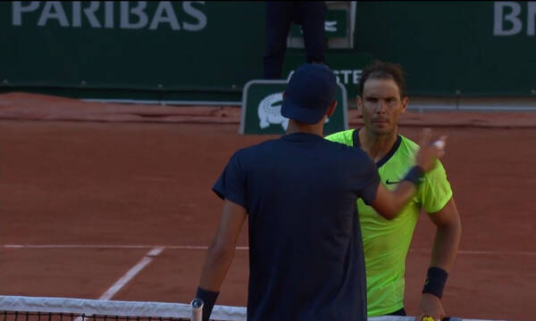 Roland Garros: Μπήκε «αγριεμένος» ο Ναδάλ